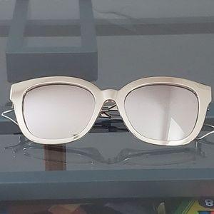 Christian Dior Diorama Silver Sunglasses